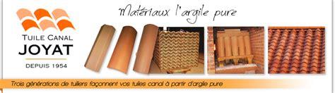 fabricant de tuile terre cuite joyat fabrication de tuile canal tuile fond plat et