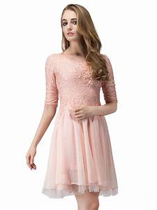 pink fashion dresses wwwimgkidcom the image kid has it With robe dentelle beige