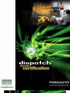 Dispatch Certification