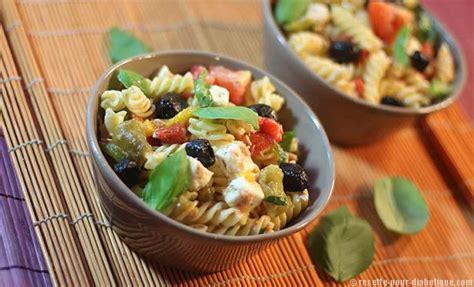 salade de pates pour accompagner un barbecue salade de p 226 tes 224 la grecque