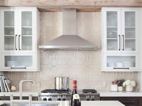 glass backsplashes for kitchen kitchen backsplash design ideas hgtv