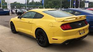 2018 Ford Mustang Ecoboost Performance Package - YouTube