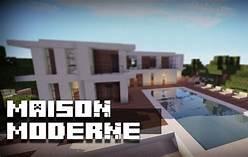 HD wallpapers comment faire une maison moderne dans minecraft ...
