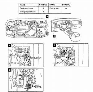 Mitsubishi Diamante Fuse Problem  Where Is The Fuse Box