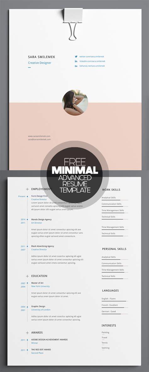 free clean modern cv resume templates psd freebies graphic design junction