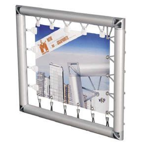 kunstd 252 nger monsterframe a user friendly mounting system for big advertising banners both in