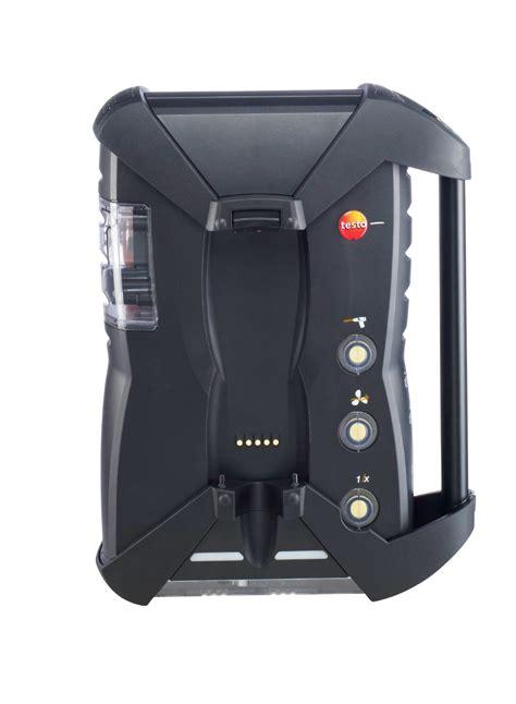 change testo testo 350 analyzer unit for flue gas analysis system