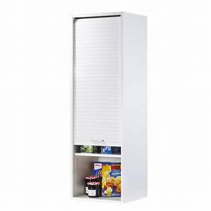 Meuble Cuisine Blanc : meuble de cuisine blanc largeur 40 cm hauteur 123 6 cm ~ Edinachiropracticcenter.com Idées de Décoration