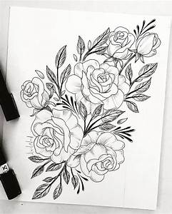 The 25+ best Flower drawings ideas on Pinterest | Flower ...