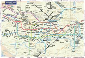 London Train Stations Map