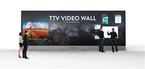 200-Inch 8K TV 0mm Bezel Video-Wall Debuts on CEBIT 2016