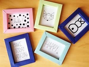 Fabriquer Un Cadre Photo : diy cadre en papier lo cia itr ma ~ Dailycaller-alerts.com Idées de Décoration