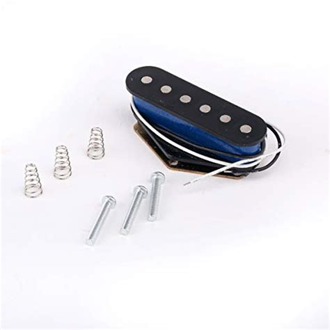 pickups coil single pickup bridge telecaster fender guitar strat tele musiclily electric parts