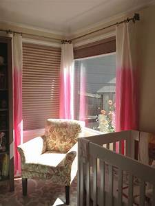 trendy ombre curtains in cold warm and neutral hues With ombre curtains pink