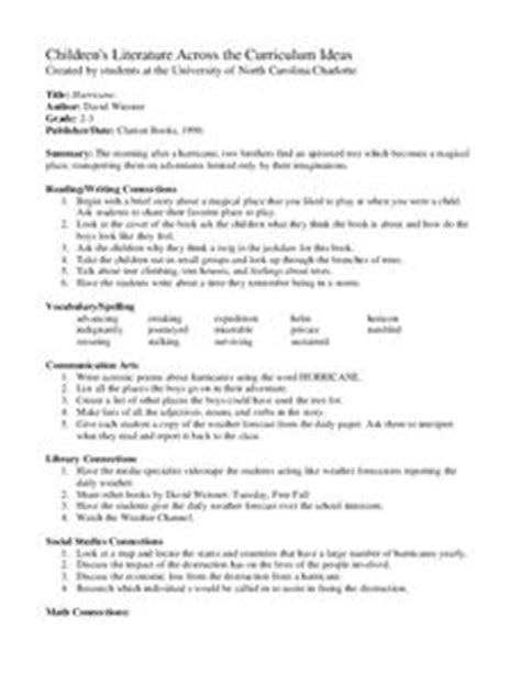 hurricane lesson plan for 2nd 3rd grade lesson planet