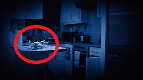 extremely violent poltergeist activity caught  video