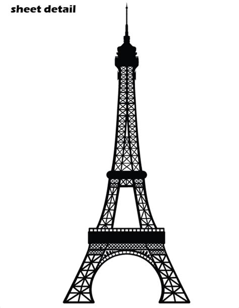 retro bathroom ideas eiffel tower wall decal sticker