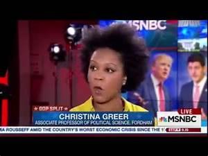 Christina Greer discusses Trump & GOP - YouTube
