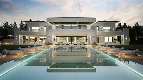 maison avec piscine espagne maison moderne borddeleau
