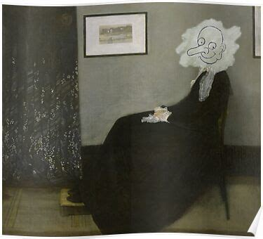 whistlers mother  bean posters  andraskiss