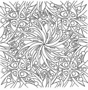 Abstract Coloring Pages difficult freeFree Coloring Pages ...