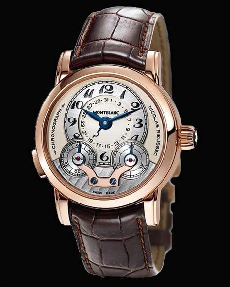 montre mont blanc nicolas rieussec chronographe