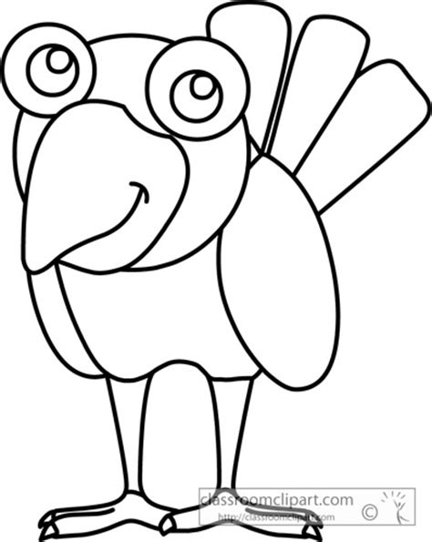 animal drawing outlines clipart