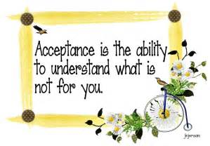 Quotes About Acceptance