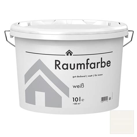 Weiße Farbe Bauhaus by Raumfarbe Weiss 10l 5872 If Disp Weiss Fluessig No