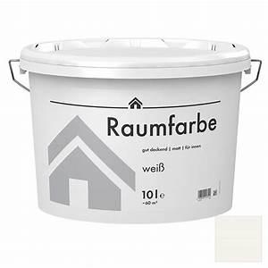 Keller Wandfarbe Atmungsaktiv : wandfarbe matt 10 l wei bauhaus ~ A.2002-acura-tl-radio.info Haus und Dekorationen