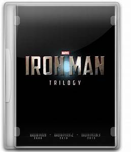 Iron Man Trilogy DVD Case Icon (PNG) by JustFranky on ...