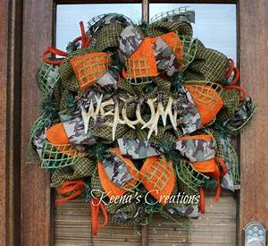 1000 Images About Hunting Themed Wreaths On Pinterest