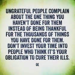 Helping Ungrateful People Quotes