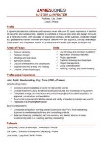 job resume sle pdf download resume finish carpenter