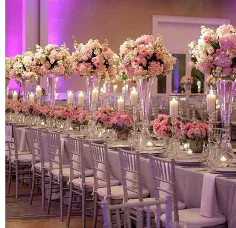 iron mental vase centerpieces for wedding table decoration