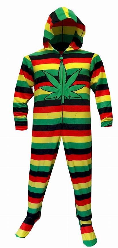 Pajamas Adult Footie Funny Onesie Hood 420