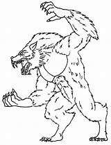 Werewolf Coloring Pages Wolf Claws Scary Sharp Printable Sheet Coloringsun Getcolorings Sun Printing Utilising Button Pa Getdrawings Popular Directly Grab sketch template