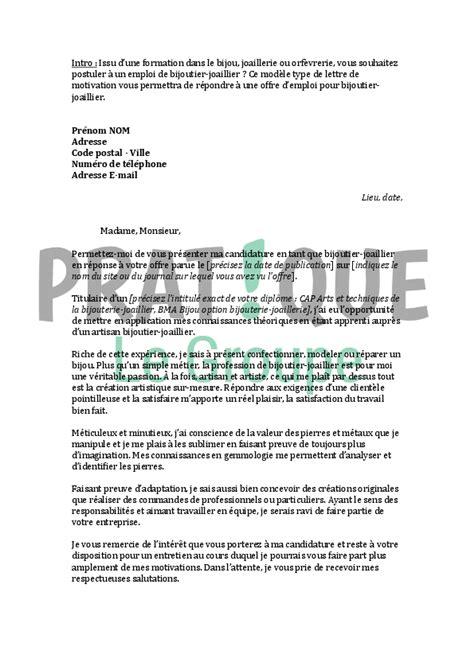 formation de cuisine gratuite lettre de motivation pour un emploi de bijoutier joaillier pratique fr