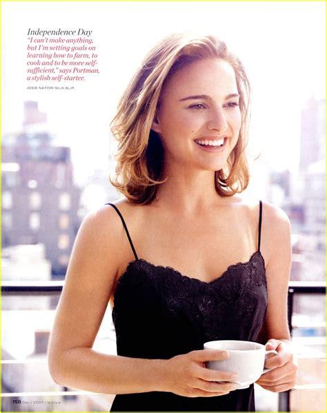 Natalie Portman Instyle December Photo