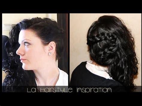 Natte Sur Le Coté Coiffure Romantique Sur Le C 244 T 233 Natte Et Cheveux L 226 Ch 233 S L A Hairstyle Inspiration