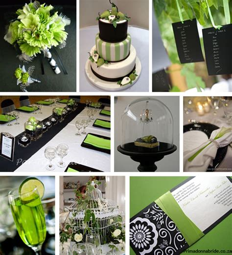 black white and green wedding ideas wedding colours red and black primadonna bride
