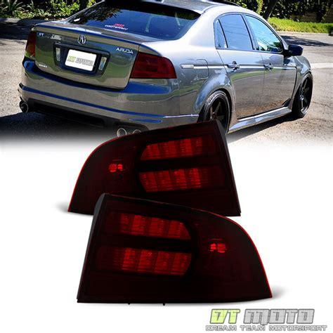 Acura Tl Type S Accessories by Smoked 2004 2008 Acura Tl Type S Lights Taills
