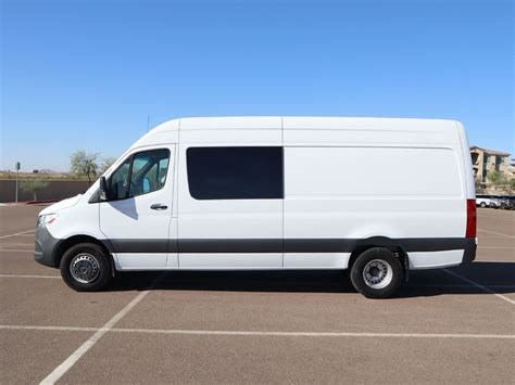 """If used while operating a motor vehicle. 2019 New Mercedes-Benz Sprinter Cargo Van 3500XD High Roof V6 170"""" RWD at PenskeLuxury.com ..."""