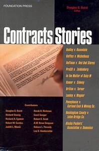 Contracts - Guide For First-year Law Students