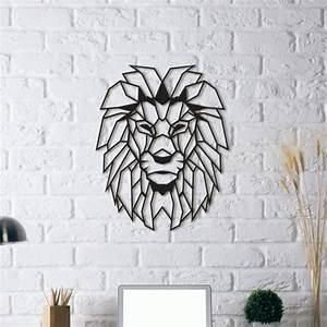 Decoration Murale Metal Design : d coration design m tal lion artwall and co ~ Teatrodelosmanantiales.com Idées de Décoration