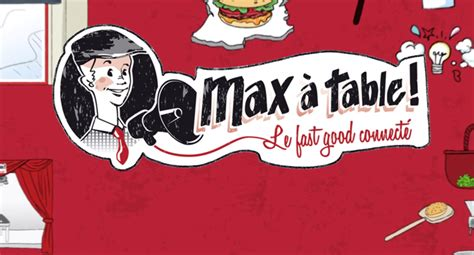 jeux de cuisine burger restaurant max à table le fast food connecté les gourmands 2 0