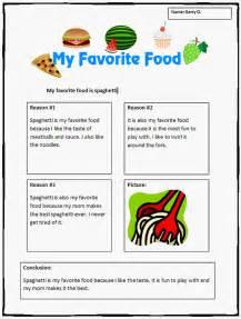 food essay writing