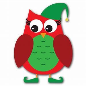 Cute owl christmas clip art - Clip Art Library
