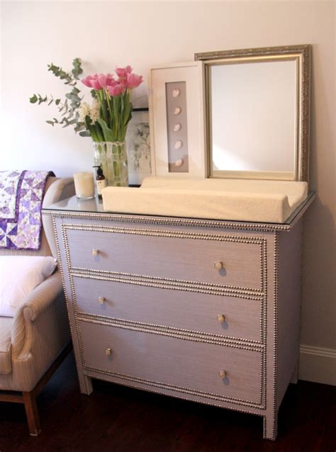 Hemnes 3 Drawer Dresser As Changing Table by Glamorous Girly Change Table Ikea Hackers Ikea Hackers