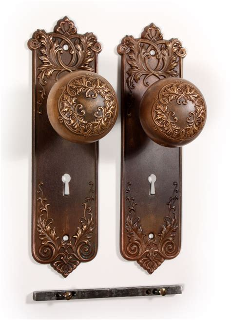 antique door knobs more ideas for door knob backplate the homy design